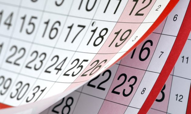 Dates for your diary – May 2016