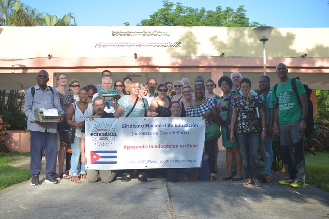 Teacher, Kerry Goldsmith, reflects on her experiences as a member of the October 2017 NEU (NUT Section) delegation to Cuba