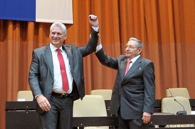 Cuba's New President Vows to Defend Socialist Revolution